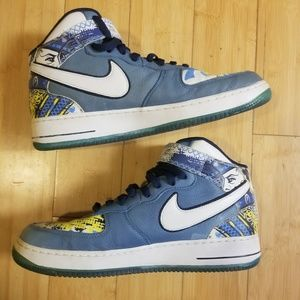 Nike Air Force 1 Mid Prm  M Vick Royale collection